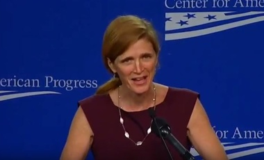 Amb. Samantha Power at the Center for American Progress