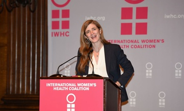 Amb. Samantha Power at the International Women's Health Coalition Annual Dinner