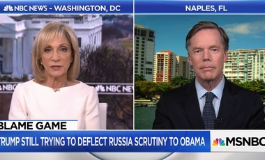 Nicholas Burns talks to Andrea Mitchell about Russian Meddling