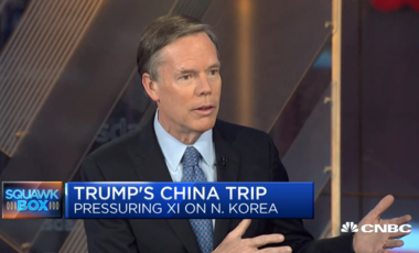 Nicholas Burns talks to CNBC