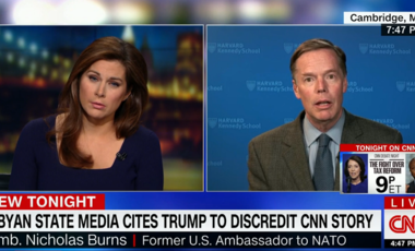 Nicholas Burns on CNN Out Front