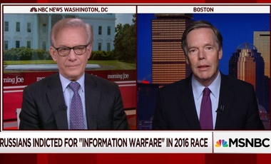 Nicholas Burns and David Ignatius on Morning Joe