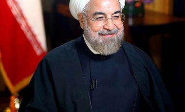 President Hassan Rouhani at the UN, Sep. 2014.