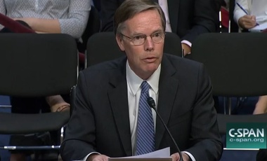 Nicholas Burns testifies before the Senate Select Intelligence Committee on possible Russian interference in European elections