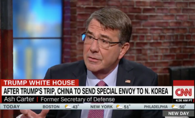 Ash Carter on CNN New Day