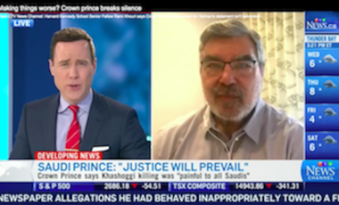 Rami Khouri on CTV News