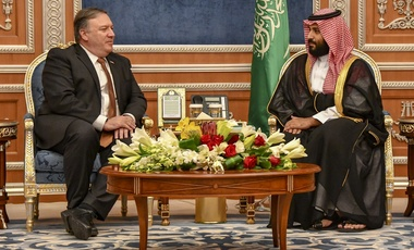 Secretary Pompeo Meets with Saudi Crown Prince Mohammed bin Salman