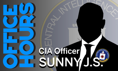 CIA Officer Sunny J.S. on Office Hours