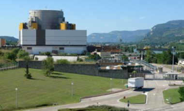 French Superphenix Breeder Reactor