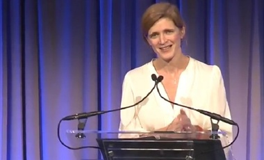 Amb. Samantha Power at the UNA-USA and UN Foundation Global Leadership Dinner
