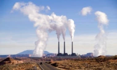 The Navajo Generating Station is a coal-fired powerplant with a 2280 megawatt capacity located on the Navajo Indian Reservation, near Page, Arizona.
