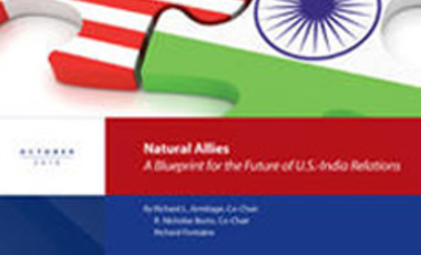 Natural Allies: A Blueprint for the Future of U.S.-India Relations