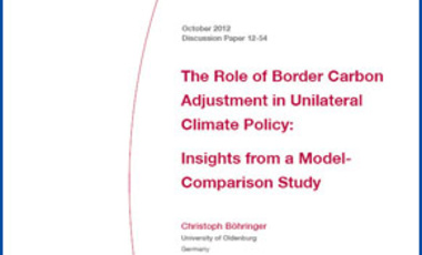 The Role of Border Carbon Adjustment in Unilateral Climate Policy: Insights from a Model-Comparison Study