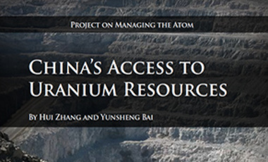 China's Access to Uranium Resources