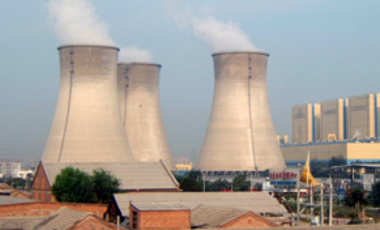 A nuclear power plant in Beijing
