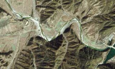Hagap, North Korea, the suspected site of an underground complex used for developing nuclear weapons.