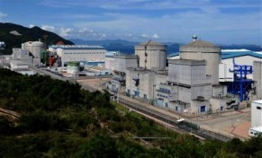 A view of the Ling'ao Nuclear Power Plant in Daya Bay, near Shenzhen, south China, Mar. 11, 2011. The Daya Bay Nuclear Power Plant was the 1st commercial nuclear power plant on China's mainland.