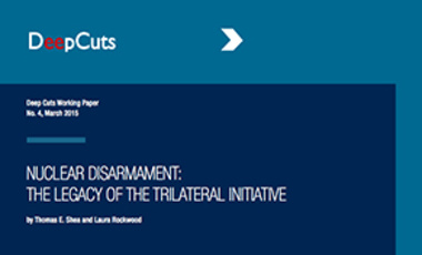 Nuclear Disarmament: The Legacy of the Trilateral Initiative