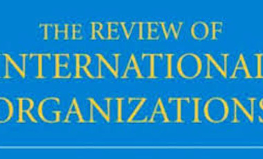 (The Review of International Organizations)