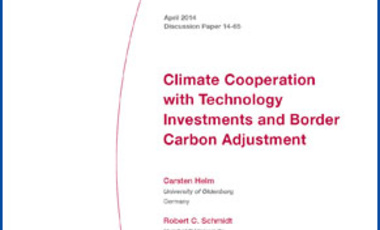 Climate Cooperation with Technology Investments and Border Carbon Adjustment
