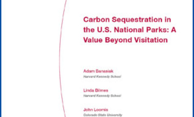 Carbon Sequestration in the U.S. National Parks: A Value Beyond Visitation