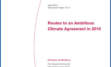 Routes to an Ambitious Climate Agreement in 2015