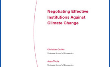 Negotiating Effective Institutions Against Climate Change