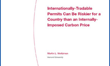 Internationally-Tradable Permits Can Be Riskier for a Country than an Internally-Imposed Carbon Price
