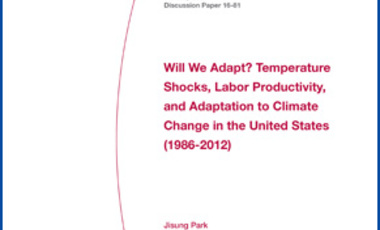 Will We Adapt? Temperature Shocks, Labor Productivity, and Adaptation to Climate Change in the United States (1986–2012)