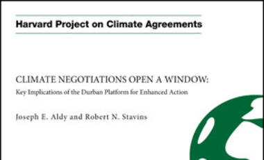 Climate Negotiations Open a Window: Key Implications of the Durban Platform for Enhanced Action