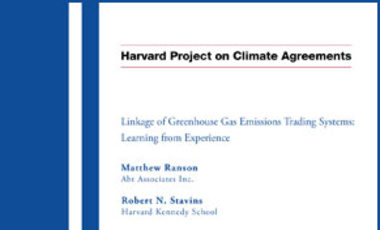 Linkage of Greenhouse Gas Emissions Trading Systems: Learning from Experience