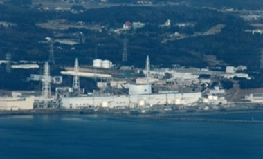 Fukushima Dai-ichi nuclear power plant is pictured before helicopters dump water on the stricken reactor to cool overheated fuel rods inside the core Thursday morning, March 17, 2011.