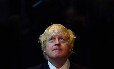 Mayor of London Boris Johnson listens to speeches during the annual GLA (Greater London Authority) remembrance service in City Hall on November 6, 2015 in London, England.