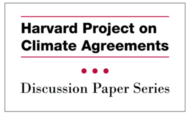 Harvard Project on Climate Agreements