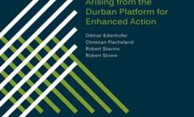 Identifying Options for a New International Climate Regime Arising from the Durban Platform for Enhanced Action