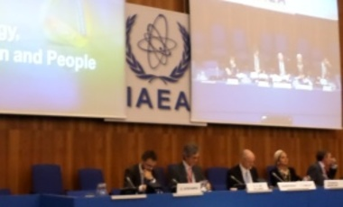 IAEA symposium on safeguards in Vienna, October 21, 2014.