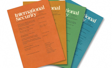Honors for International Security Journal