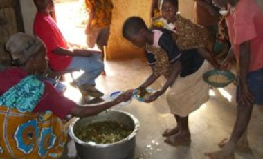 Children of the Nations Feeding Program near Lilongwe, Malawi