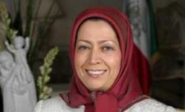 Maryam Rajavi,  president-elect of the People's Mujahideen Organisation (MEK)'s political wing, the National Council of Resistance of Iran, December 2006.