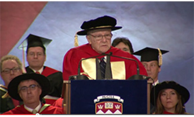 Prof. Matthew S. Meselson delivers his McGill 2013 Honorary Doctorate Address, May 27, 2013 in Montreal, QC.