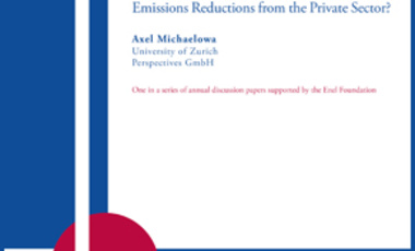 Can New Market Mechanisms Mobilize Emissions Reductions from the Private Sector?