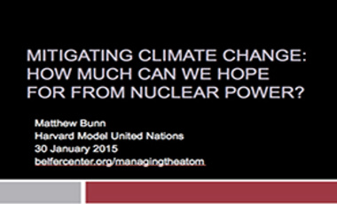 Mitigating Climate Change: How Much Can We Hope For From Nuclear Power?