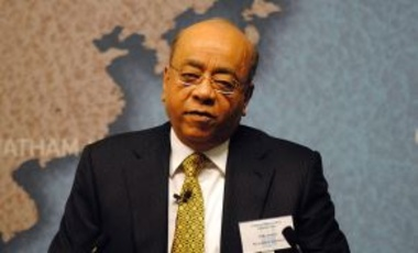 "Dr. Mo Ibrahim at the Chatham House program, ""Combating Global Corruption: Shared Standards and Common Practice?,"" 3 February 2014."