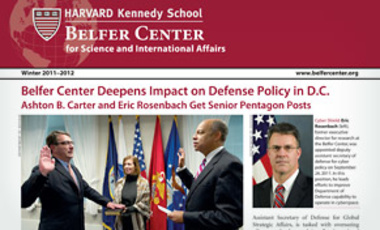 Belfer Center Newsletter Winter 2011-2012
