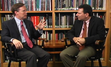 Author Robert Kaplan urges students to study history and geography of emerging countries in Future of Diplomacy Project Interview