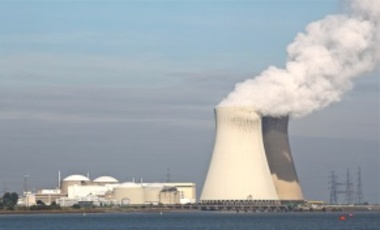 Nuclear power plant. Approximately 2,200 metric tons of waste are produced annually in the United States.