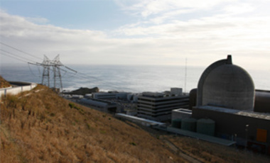 One of Pacific Gas and Electric's Diablo Canyon Power Plant's nuclear reactors is seen in Avila Beach, Calif., Nov. 3, 2008.
