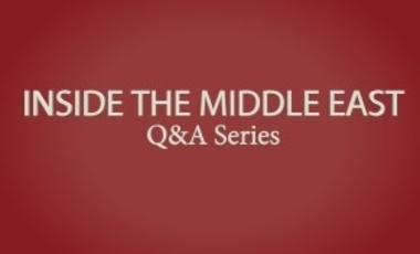 Inside the Middle East: Q&A with Mouin Rabbani