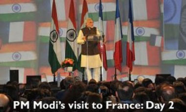 Prime Minister Narendra Modi's state visit to France, April 16, 2015.