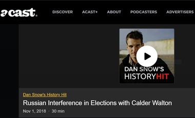 Russian Interference in Elections with Calder Walton